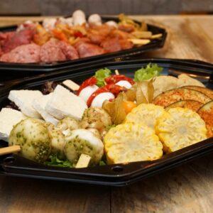 Vegetarisch gourmet pakket